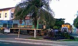 Codó - Codó-MA-Praça da Estação Ferroviária-Foto:Antonio R. Rodrigues Neto