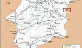 Coelho Neto - Mapa de Localização - Coelho Neto-MA