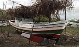 Cururupu - Cururupu-MA-Barco novo no Porto de Cururupu-Foto:Mondegoneto