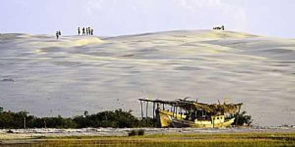 A paradisíaca ilha dos Lençóis - Foto Wikipédia