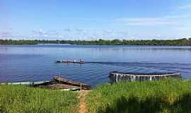 Maraã - Maraã-AM-Pescadores no Rio Japurá-Foto:Moises Pimentel