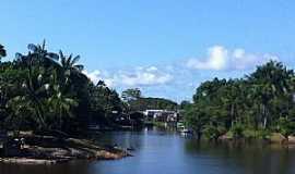 Maraã - Maraã-AM-Rio Japurá e a cidade-Foto:Moises Pimentel