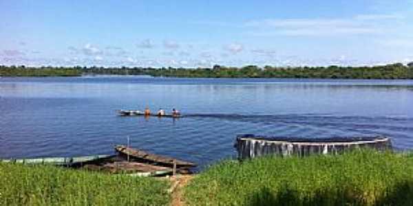 Maraã-AM-Pescadores no Rio Japurá-Foto:Moises Pimentel