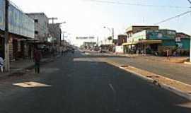 Estreito - Avenida Principal no centro de Estreito-MA-Foto:JOSE WILSON