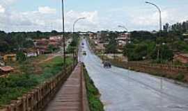Estreito - Estreito-MA-Vista da cidade à partir da Ponte JK,Rodovia Belém-Brasília-Foto:Nando Cunha