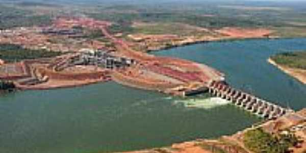 Estreito-MA-Constru��o da Usina Hidroel�trica no Rio Tocantins-Foto:Jose Wilson
