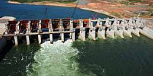Estreito-MA-Construção da Usina Hidroelétrica no Rio Tocantins-Foto:Jose Wilson
