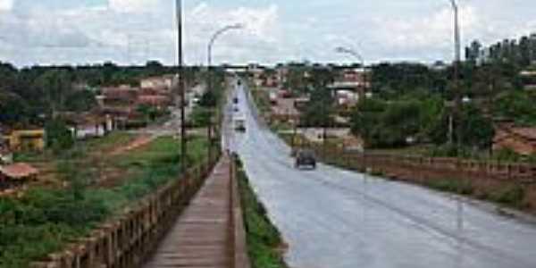 Estreito-MA-Vista da cidade à partir da Ponte JK,Rodovia Belém-Brasília-Foto:Nando Cunha