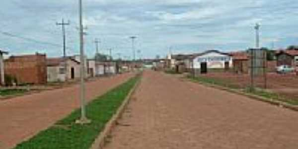 Avenida em Feira Nova do Maranhão-MA-Foto:Site PMFNM