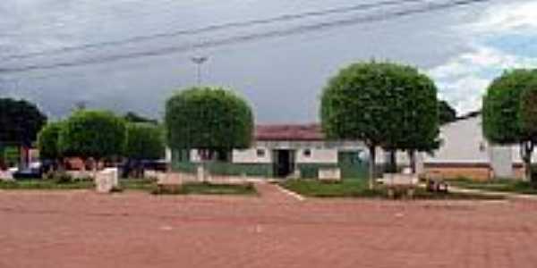 Praça em Feira Nova do Maranhão-MA-Foto:Site PMFNM