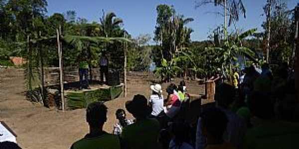 Massauari-AM-Centro da Comunidade-Foto:salvavidasamazonia.
