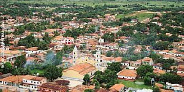 Governador Nunes Freire-MA-Vista aérea do centro-Foto:Jocilson Feitosa