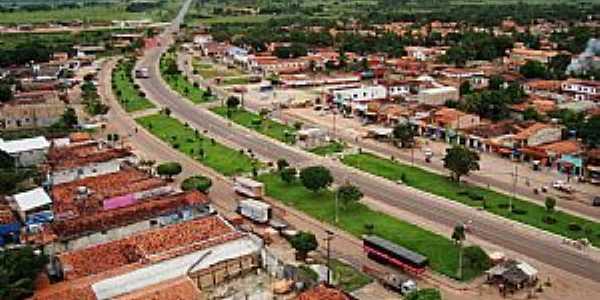 Governador Nunes Freire-MA-Vista da Avenida do Comércio-Foto:Jocilson Feitosa