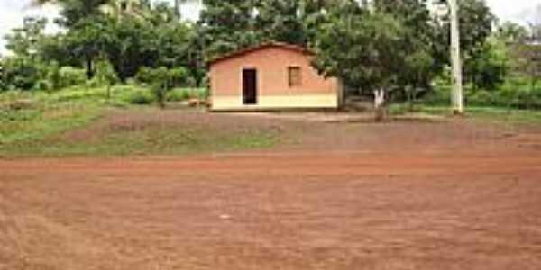 Graça Aranha-MA-Casa típica no Povoado Creoli-Foto:jurandir borges carvalho
