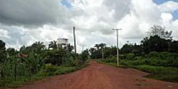 Graça Aranha-MA-Rua Externa no Povoado Creoli-Foto:jurandir borges carvalho