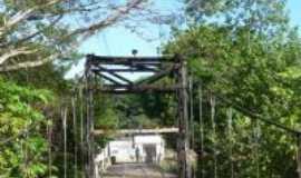Grajaú - Ponte da madeira sobre o rio Grajaú , Por LEONETE NOGUEIRA LIMA