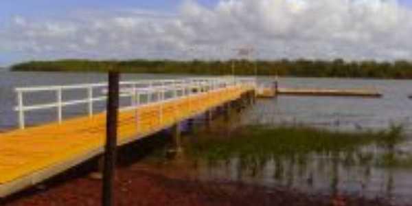 ponte flutuante, Por lizandra