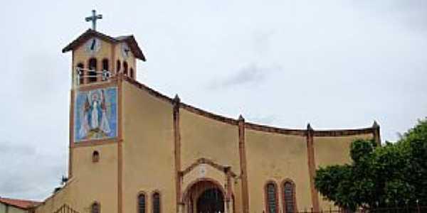Igarapé Grande-MA-Matriz de N.Sra.Maria Imaculada-Foto:Vicente A. Queiroz