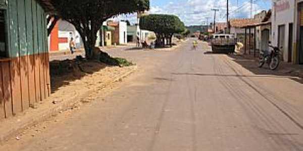 Itaipava do Grajaú-MA-Rua central-Foto:Cleomilton Pereira