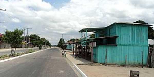 Mocambo-AM-Avenida Principal-Foto:Bruno Rocha