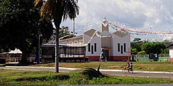Mocambo-AM-Igreja de São João Batista-Foto:www.mocambodoarari.com.br