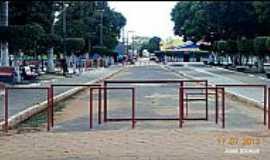 Itinga do Maranhão - Itinga do Maranhão-MA-Praça Ana da Penha no centro-Foto:Jose Wilson