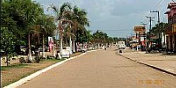 Itinga do Maranhão-MA-Avenida Pres.Médice-Foto:Jose Wilson