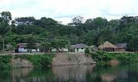 Moura - Moura-AM-Comunidade às margens do Rio Negro-Foto:jmartinsrocha