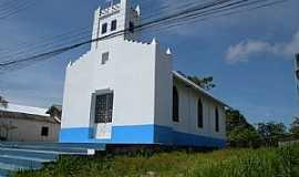 Moura - Moura-AM-Igreja da Comunidade-Foto:Felipe Oliva