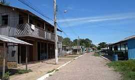 Moura - Moura-AM-Rua Beira Rio-Foto:Felipe Oliva