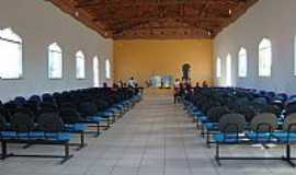 Lagoa do Mato - Lagoa do Mato-MA-Interior da Igreja de Santo Ant�nio-Foto:Josu� R. Guimar�es