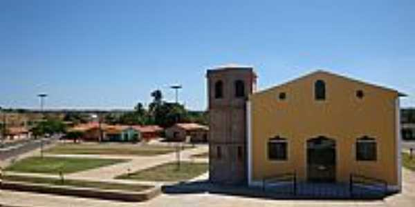 Lagoa do Mato-MA-Igreja de Santo Antônio-Foto:Josué R. Guimarães