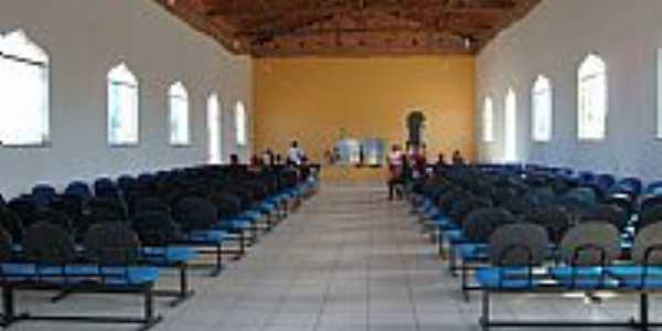 Lagoa do Mato-MA-Interior da Igreja de Santo Antônio-Foto:Josué R. Guimarães