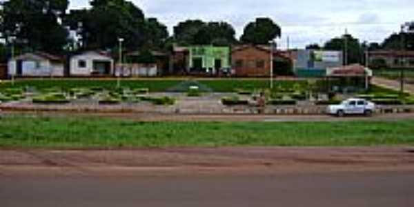 Praça-Foto:Hiel Mota