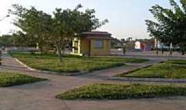 Lima Campos - Vista parcial da Praça de Eventos em Lima Campos-Foto:Ribinha