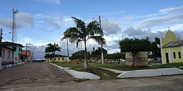 Luis Domingues-MA-Praça e a antiga Matriz-Foto:JOSE TAVARES JUNIOR