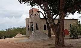 Alecrim - Alecrim-AL-Construção da nova Igreja Católica-Foto:Manoel Sandro Silva