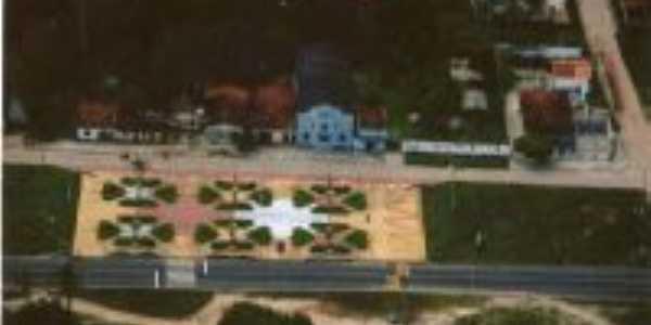 Vista aérea de Praça da Bíblia, Por ILSON DE SOUSA BARBOSA