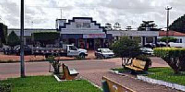 Praça em Maranhãozinho-MA-Foto:WLuiz