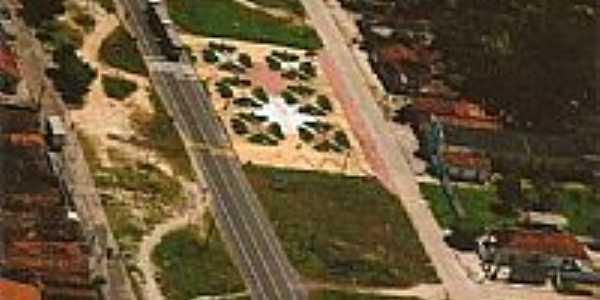 Vista aérea de Maranhãozinho-MA-Foto:Maranhãozinho