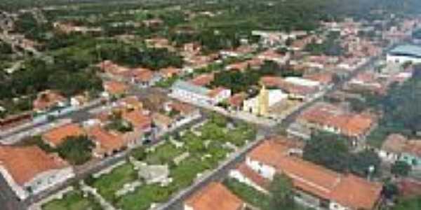 Vista aérea de Mata Roma-MA-Foto:César Almeida