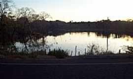 Matões - Matões-MA-Pôr do Sol na Lagoa Buriti Grande-Foto:Francisco Carneiro
