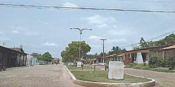 Matões do Norte-MA-Avenida Francisco Sampaio-Foto:José Muniz