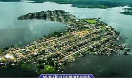 Nhamundá - Nhamundá-AM-Vista aérea-Foto:www.ale.am.gov.br