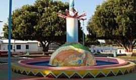Nhamundá - Praça em Nhamundá-AM-Foto:marcelotec