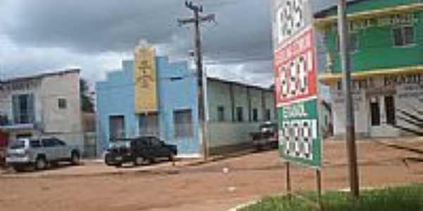 Igreja da Assembléia de Deus em Miranda do Norte-Foto:José RS Muniz