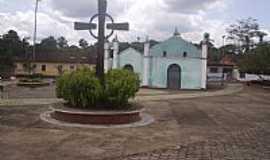 Morros - Morros-MA-Pra�a e Igreja de S�o Bernardo-Foto:Melina Pinto