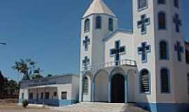 Nova Olinda do Norte - Matriz de N.Sra.de Nazaré e São José em Nova Olinda do Norte-AM-Foto:albarroncas