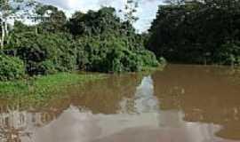 Palmeirândia - Barragem em Palmeirândia-MA-Foto:anamerari