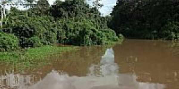 Barragem em Palmeir�ndia-MA-Foto:anamerari